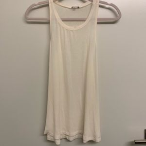 Splendid knit tank top cream color size M